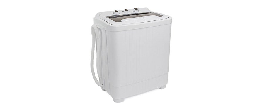 XtremepowerUS Portable Compact Washer Dryer Combo