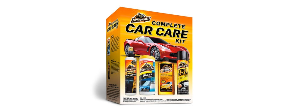 armor all complete car detailing kit