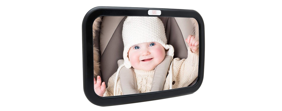 baby car mirror by baby caboodle