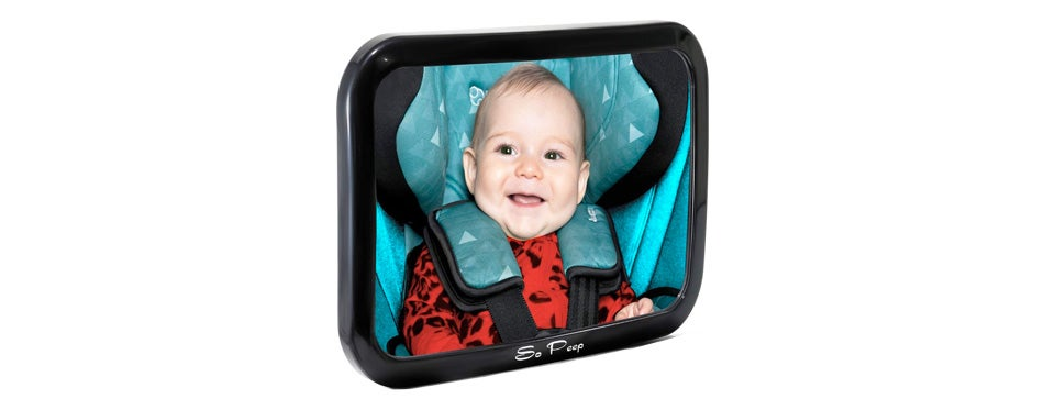 baby car mirror by so peep