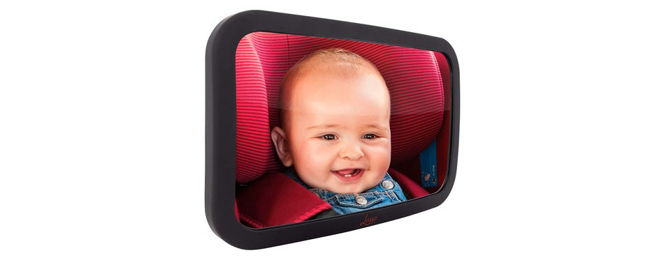 baby mirror for car by lusso gear