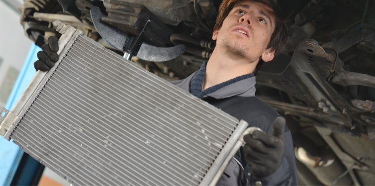 car radiator replacement
