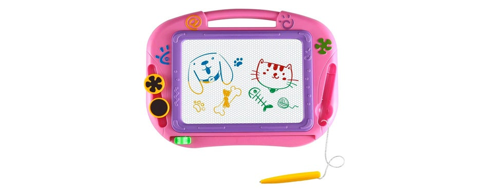 eedan magnetic drawing travel toy for toddlers