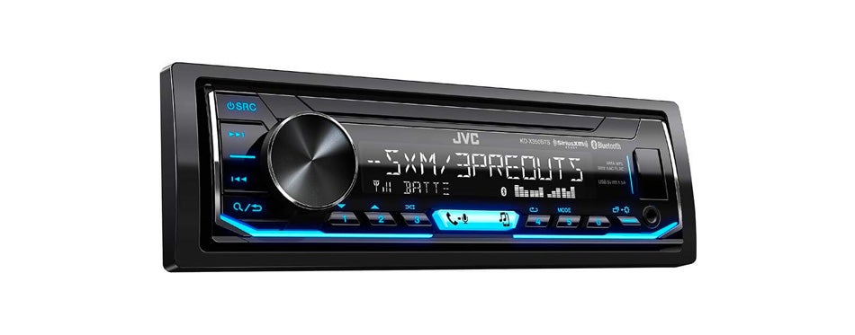 jvc single din car stereo bluetooth receiver