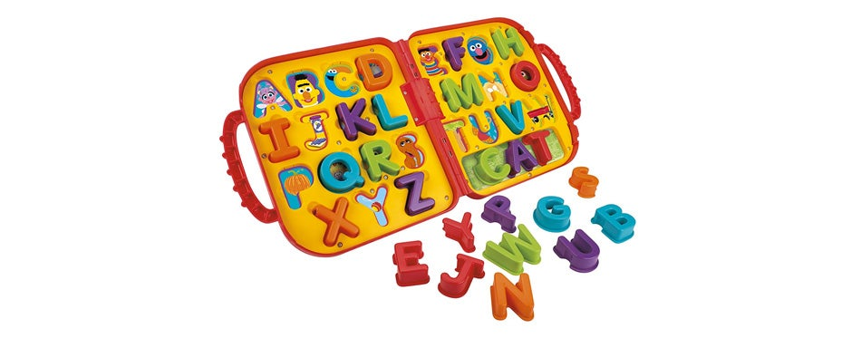 sesame street elmo's on the go letters travel toy for toddlers
