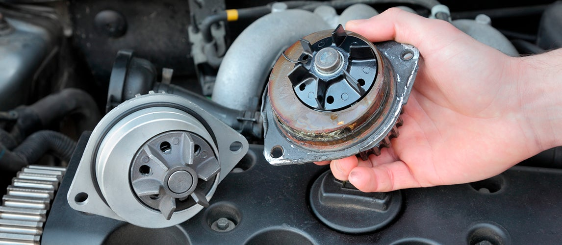 symptoms of a failing water pump in your car