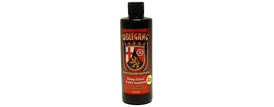 wolfgang concours series car paint sealant