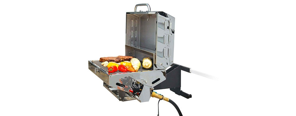 Camco Olympian Stainless Steel Portable RV Grill