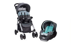Evenflo Vive Car Seat Stroller Combo with Embrace