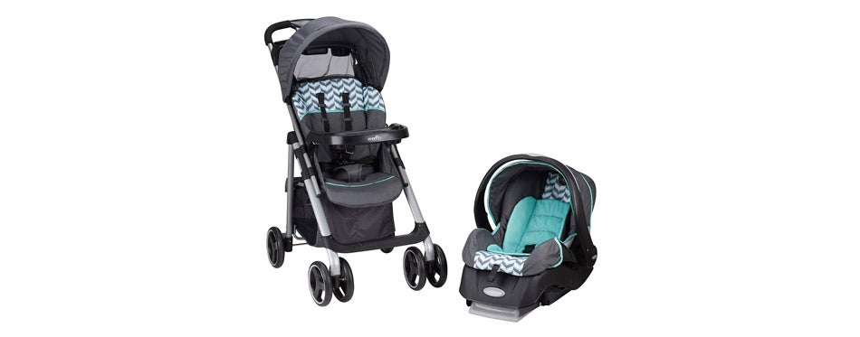 Evenflo Vive Travel System with Embrace Spearmint