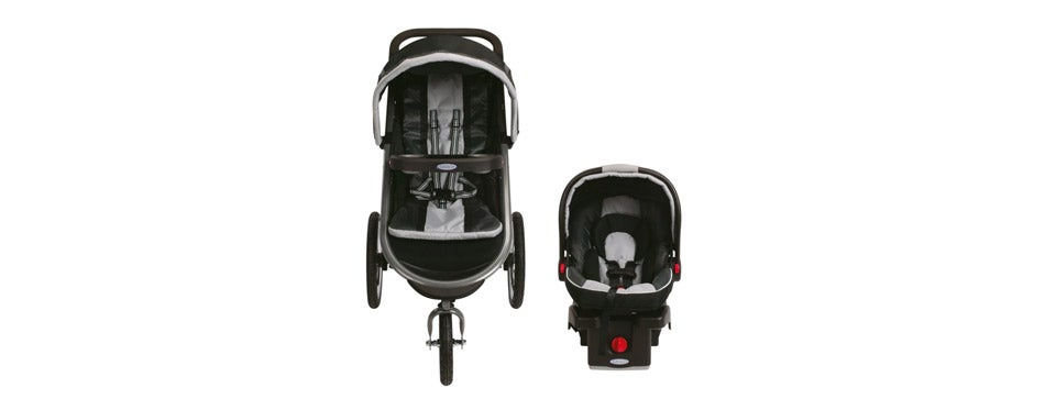 Graco Fastaction Fold Jogger Click Connect Baby Car Seat Stroller Combos