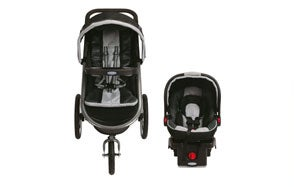 Graco Fastaction Fold Jogger Car Seat Stroller Combo