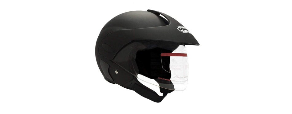 MMG Motorcycle Open Face Scooter Helmet