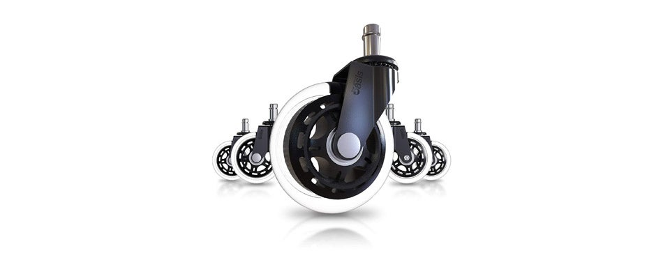 office chair caster wheels rollerblade style