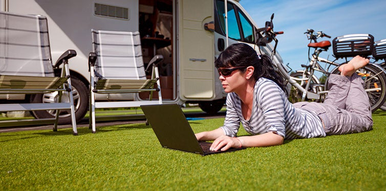 RV Internet in Public Places