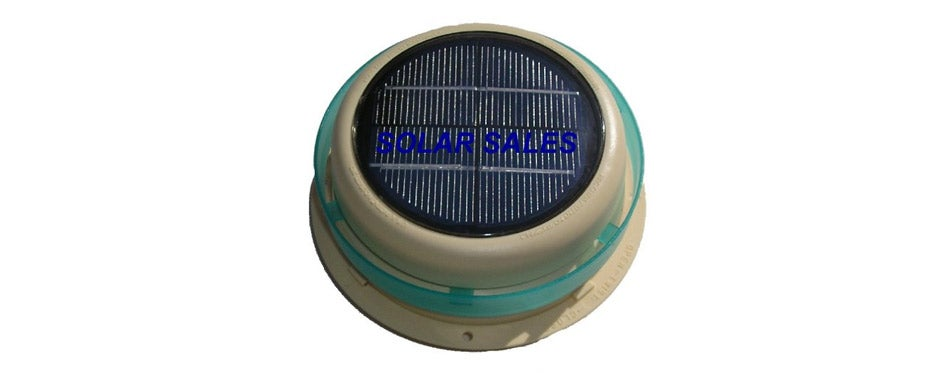 Round Solar Roof Vent for RVs