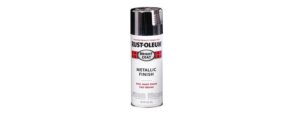 Rust Oleum Chrome Spray