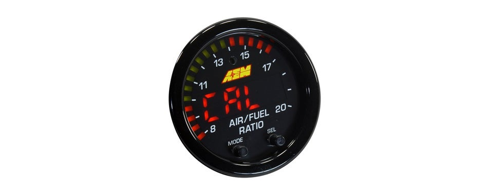 aem x-series wideband gauge