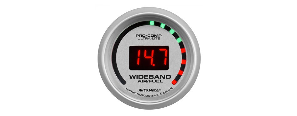 auto meter ultra-lite wideband gauge kit