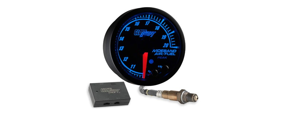 glowshift elite wideband gauge