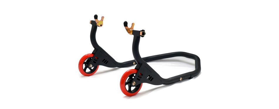 sportbike rear motorcycle stand for spools