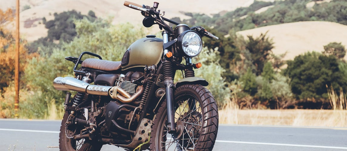 what is a scrambler motorcycle