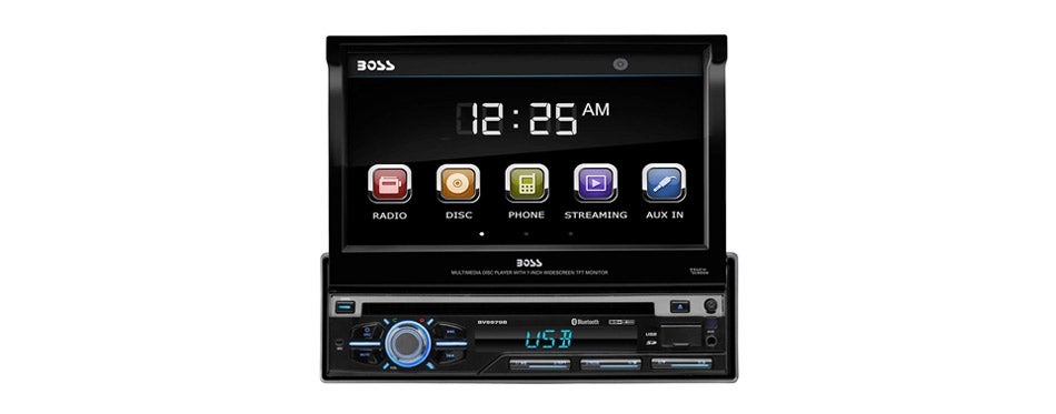 BOSS Audio Systems flip up radio