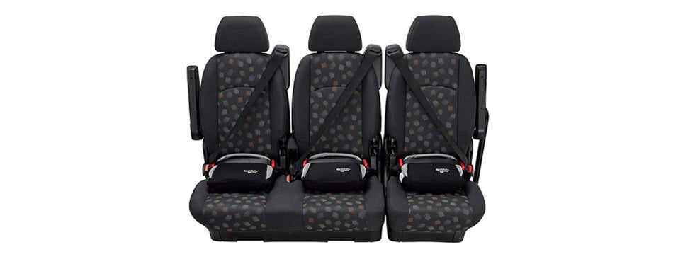 BubbleBum Backless Booster Seat