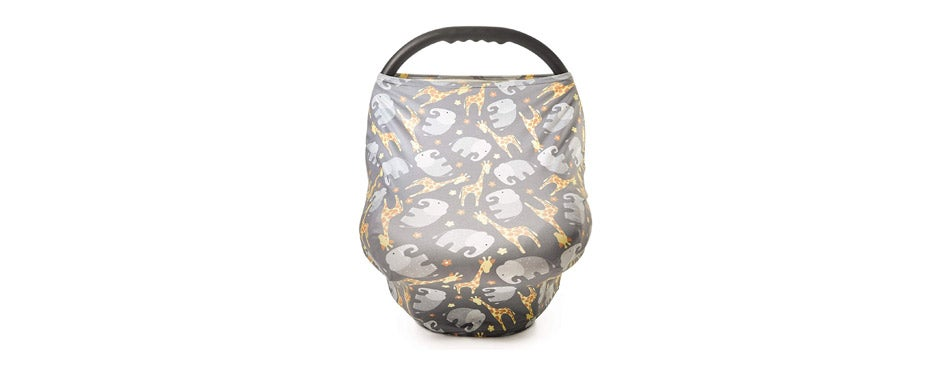 Busy Monkey infant car seat cover