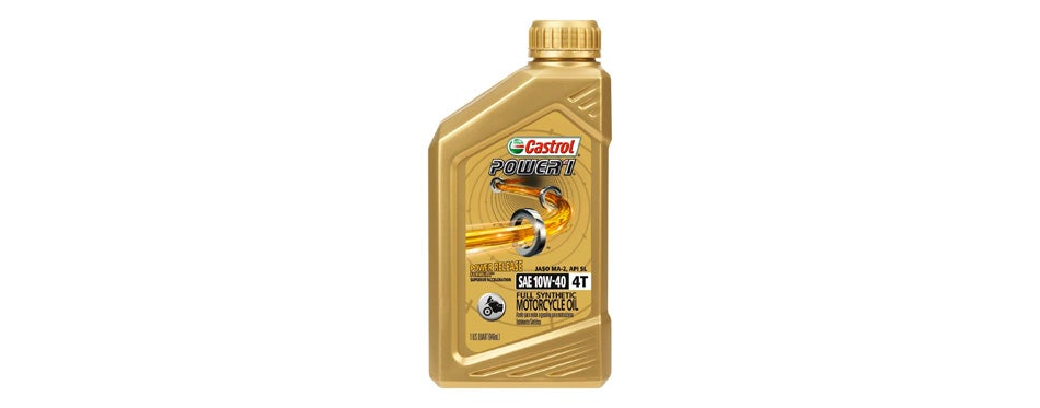 Castrol POWER Synthetic Motorcycle Oil