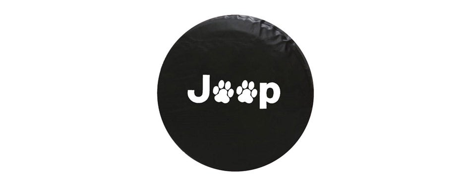 Dee-Type Paws Spare Wheel Tire Cover