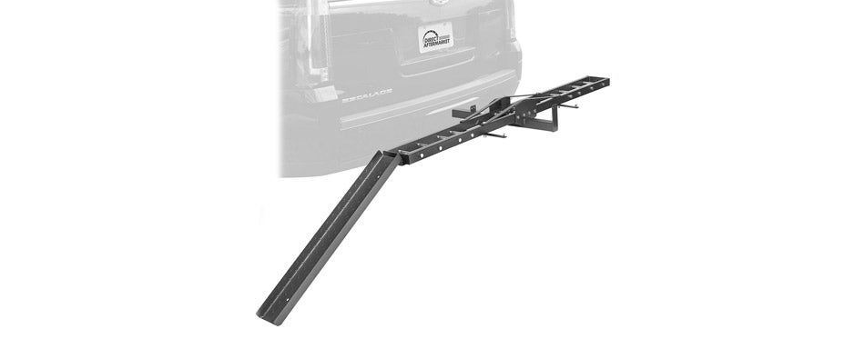 Direct Aftermarket Steel Motorcycle Rack Carrier