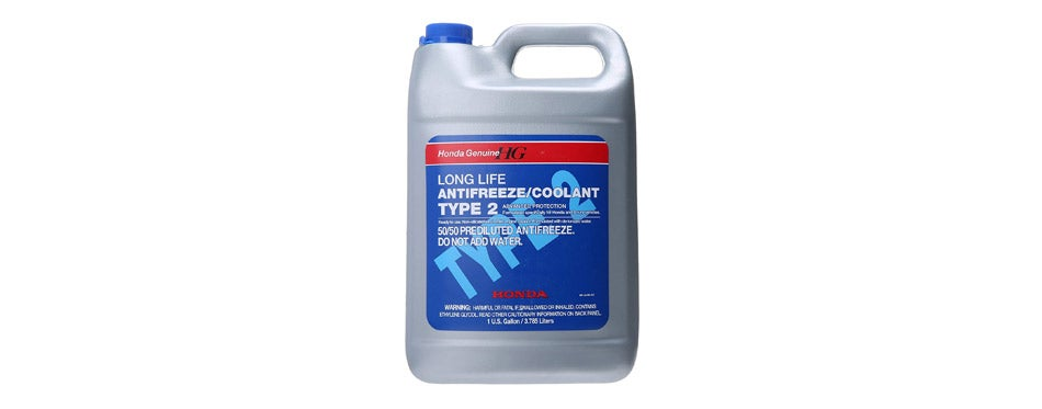 Genuine Honda Long Life Motorcycle Coolant
