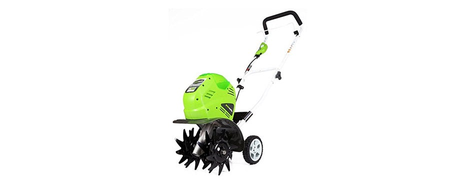 Greenworks Cordless Cultivator Battery Not Included