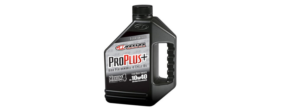 Maxima Pro Plus+ Synthetic Motorcycle Engine Oil