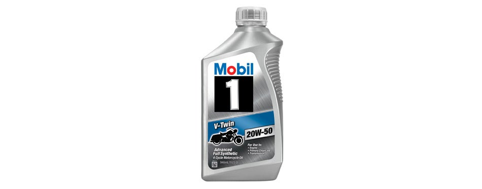 Mobil V-Twin Synthetic Motorcycle Oil