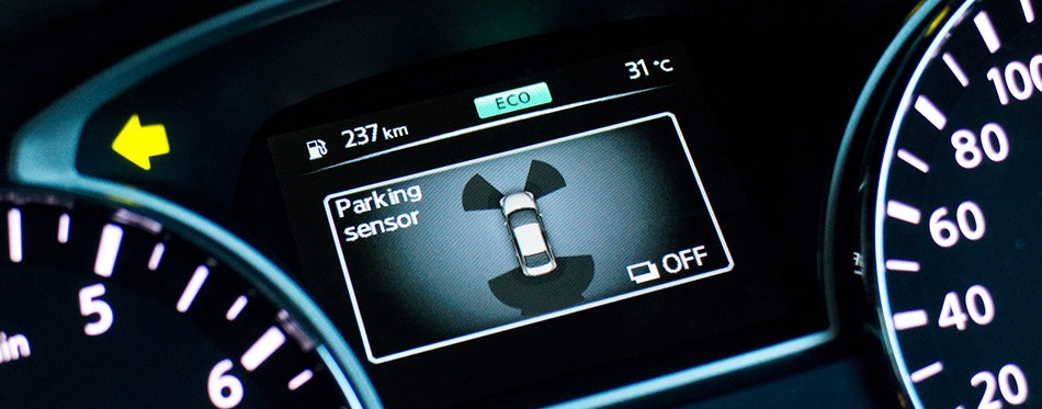 Nissan TEANA 2014 Parking Sensor Display
