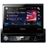 PIONEER AVH X7800BT Flip Out Head Unit
