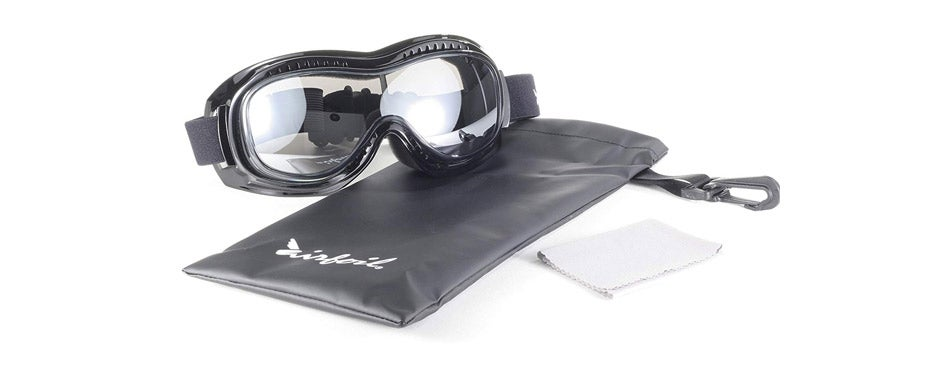 Pacific Coast Airfoil Padded Riding Goggles