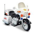 National Products Police Motorcycle for Kids
