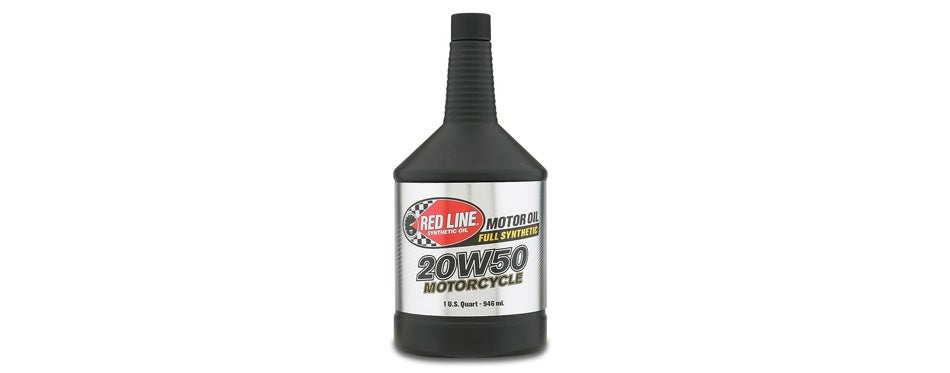 Red Line 20W-50 Motorcycle Oil
