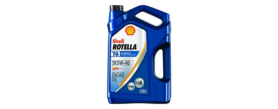 Rotella T6 Synthetic Diesel Motorcycle Oil
