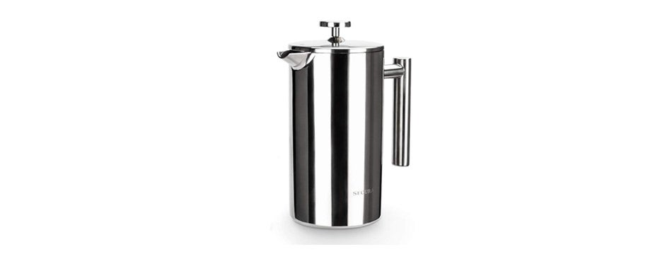 Secura Stainless Steel French Press RV Coffee Maker