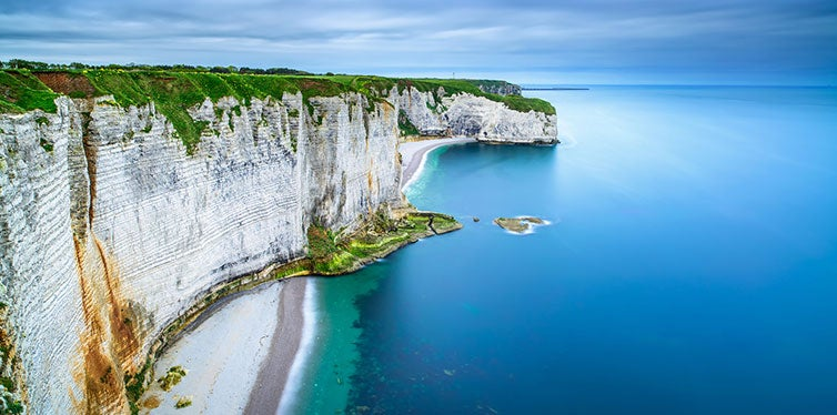 The Coastline of Normandy