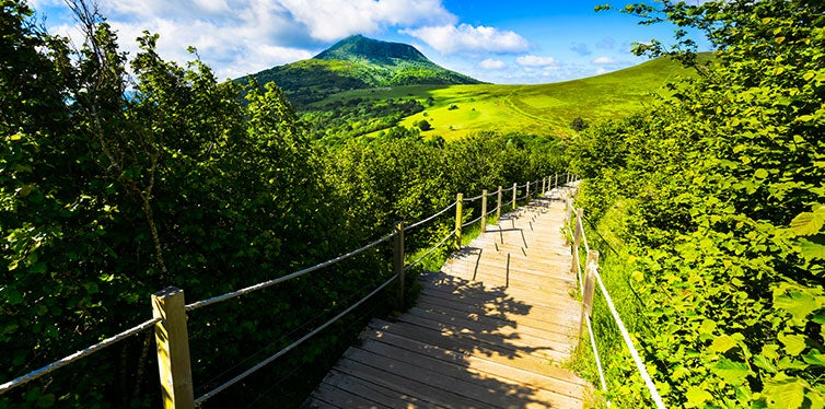 The Volcanic Trails of Auvergne