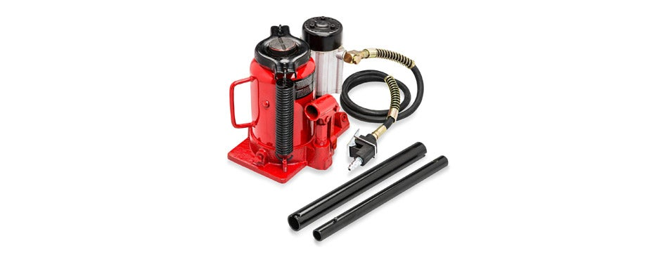 Tooluxe Low Profile Air Hydraulic Bottle Jack