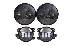 DOT Approved Daymaker Jeep Wrangler Headlights