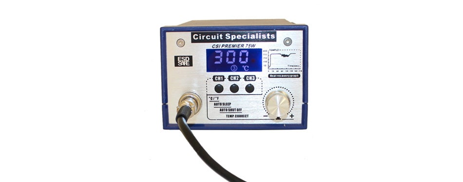 CSI Premier 75W Digital Controlled Solder Station