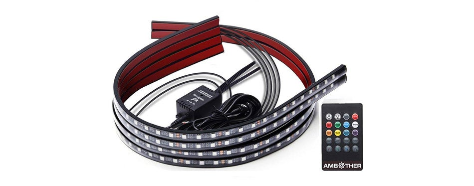 AMBOTHER Car LED Neon Underglow Kit