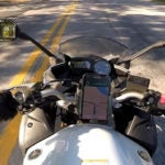 Caw Car Accessories Universal Motorcycle Cell Phone Mount
